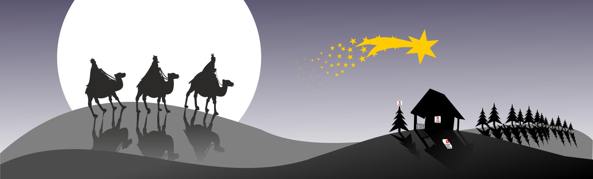 Wir folgen dem Stern